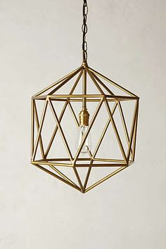 Anthropologie - Euclidean Pendant Upstairs bath or bedroom????