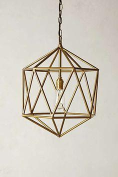 Anthropologie - Euclidean Pendant