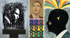 Obama, Art-ified: A tour through the unprecedented body of artwork depicting Barack Obama. (Click to view gallery.) | Images courtesy of the artists