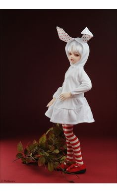 MSD - lapine Dress (White)