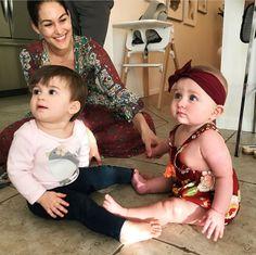 Birdie Joe Danielson, Mom Brie Bella, Cousin Vivienne James Garcia