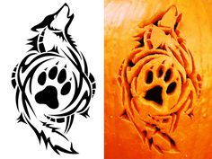 wolf tribal | Tribal Wolf Carving by ~SatoshisDarkchan on deviantART