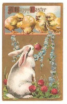 postcard.quenalbertini: Vintage Easter Card, c.1912 | eBay