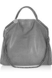 The Falabella medium faux brushed-leather shoulder bag