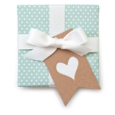You could base a wedding vision off of this. Sugar Paper Kraft Gift Tags