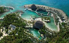 #Xcaret Vista Aérea del Parque #RivieraMaya #Cancun