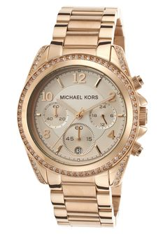 Michael Kors Women's Rose Gold Tone Dial Rose Gold Tone Metal Michael Kors Sale, Michael Kors Rose Gold, Michael Kors Watch, Mk Watch, Gold Watch, Michael Kors Sunglasses, Outlet, Watch Brands, Lady