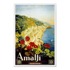 Viagem do vintage, Amalfi por ContinentalToursist