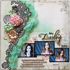 amazing! love the gauze, the stamped border.