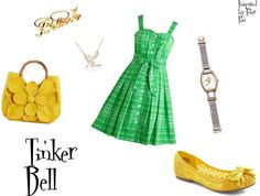 Tinker Bell, created by connie-nelson on Polyvore