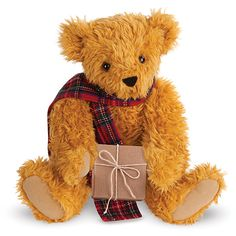 "15"" Vintage Christmas Bear 