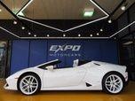 2017 Lamborghini Huracan LP 610-4 Spyder Exterior:Bianco Moncerus Interior: Nero Ade/Bianco Leda #HLA05858 $257,991 Expo Motor Cars (Houston,Tx) @ CarGurus.com