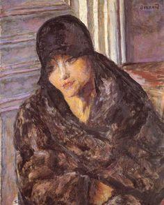 Pierre Bonnard-Portrait of Maria Lani