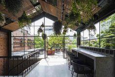 Gallery of ƯU ĐÀM Vegetarian Restaurant / Le House - 6
