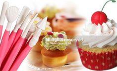 Сет сладкарски инструменти за декорация на сладкиши
