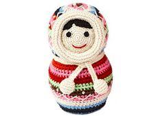 schattig eskimo popje in crochet Anne-Claire Petit | kinderen-shop Kleine Zebra