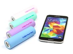 These are colorful and not like any other standard model ♥ girly colors :) Creative Powerbank - Basic