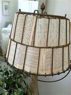 Lamp shade - I love this idea, but where do you find the wrought iron base for the lamp shade?