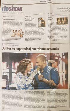 #Clipping #Rioshow #AlmaBrasileira #DiogoNogueira #MariaRita