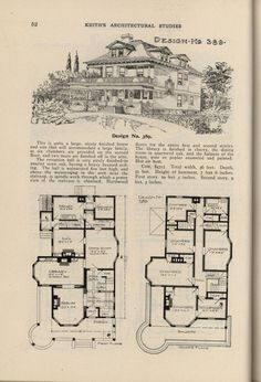 Vintage House Plans, Vintage Houses, Cost To Build, House Blueprints, House Drawing, Architecture Plan, Architecture Drawings, Sims House, Cabin Plans