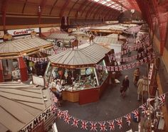 Grainger Market Newcastle upon Tyne City Engineers 1977 - Newcastle Libraries Old Pictures, Old Photos, Vintage Photos, Blaydon Races, Newcastle England, Durham City, Great North, North East England, Local History