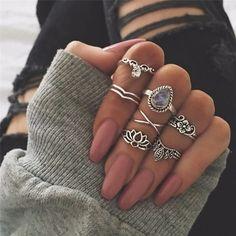 Set anillos Loto (1)