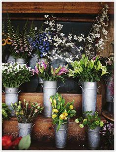 i love flower shops.