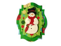 Snowman, Winter, 3D Scrapbook Embellishment, Paper piecing, gift tags, Scrapbooking Layouts, Cards, Mini Albums, brag book, Crafts, journal