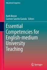 #newbook: Essential Competencies for English-medium University Teaching./ Ruth Breeze , Springer.  http://solo.bodleian.ox.ac.uk/OXVU1:LSCOP_OX:oxfaleph020706763