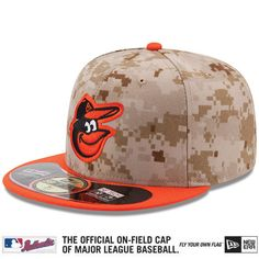 Baltimore Orioles 2014 Authentic Collection USMC On-Field Game Cap - MLB.com Shop