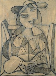Picasso Woman With Joined Hands                                                                                                                                                                                 Mais