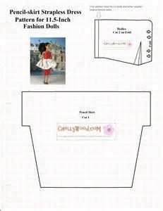 Resultado de imagen de Free Printable Doll Clothes Patterns