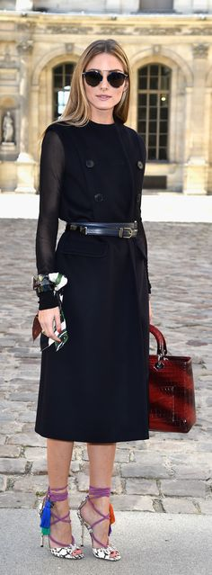 Olivia Palermo won Fashion Month in 26 outfits.