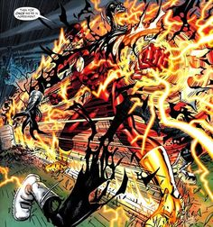 Black Flash is nothing compared to this Wally, he gets dragged to the end of time, atomized, or speed stolen. Description from comicvine.com. I searched for this on bing.com/images