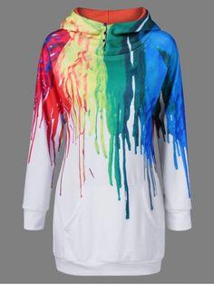 GET $50 NOW | Join RoseGal: Get YOUR $50 NOW!http://www.rosegal.com/sweatshirts-hoodies/oil-paint-over-print-hoodie-834977.html?seid=6303222rg834977