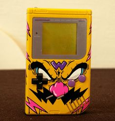 I absolutely love this Wario design on your classic Gameboy
