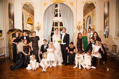 Vanessa Traina wedding - family portrait  I like the idea of one formal family portrait