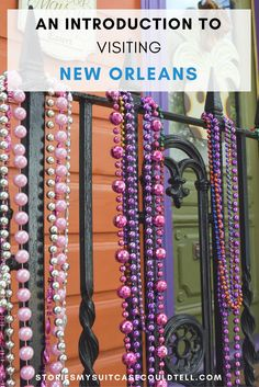 Are you visiting New Orleans for the first time? Not sure what to expect? I was the same! Click through to read my travel introduction to the city, or save for travel planning later!
