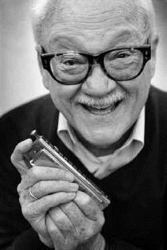 Toots Thielemans, born Jean-Baptiste Frederic Isidor Thielemans (1922-2016) - Belgian jazz musician known for his guitar and harmonica playing as well as his whistling. Thielemans is credited as one of the greatest harmonica players of the 20th century.