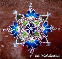 kolam - Vani Muthukrishnan