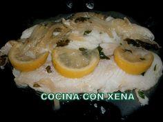 COCINA CON XENA: Filetes de pescado al limón, en Ollas Gm D, E y F