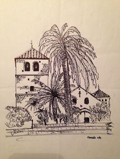 uit de oude doos, Spanje pentekening Art, Art Background, Kunst, Art Education