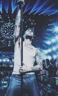 Maroon 5 - His hotness Adam Levine. See you tonight handsome 9-11-13 Charlotte