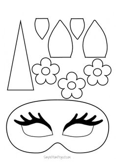 Unicorn Face Masks With Free Printable Templates Parenting Tips . - Unicorn Face Masks with FREE Printable Templates Parenting Tips free kids coloring crafts diy – Kids Crafts Source by - Printable Masks, Unicorn Printables, Printable Crafts, Free Printables, Printable Templates, Templates Free, Printable Halloween Masks, Halloween Templates, Preschool Printables