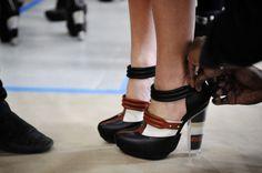 Rodarte F12 sand-filled shoes