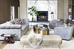 A Calgary home that features the year's hottest trends | .styleathome.com