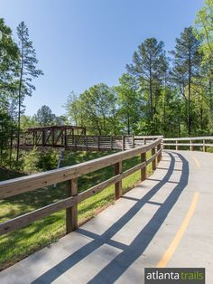The South Peachtree Creek PATH Trail is a popular running and walking trail in Decatur