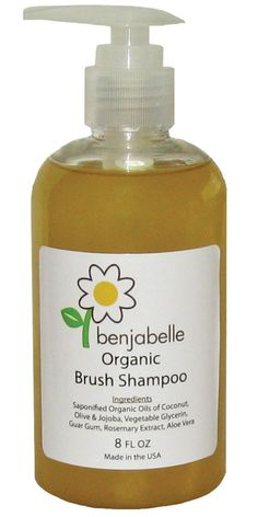 Benjabelle Organic Brush Shampoo