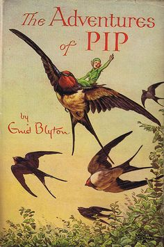 THE ADVENTURES OF PIP, ENID BLYTON by www.vintagecobweb.com, via Flickr