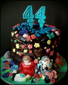 Anniversay Cake ~ Custom-Made-To-Order Cakes & Desserts for All Occasions  www.sumptuoustreats.com